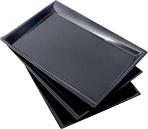 12 pack plastic serving tray, 15