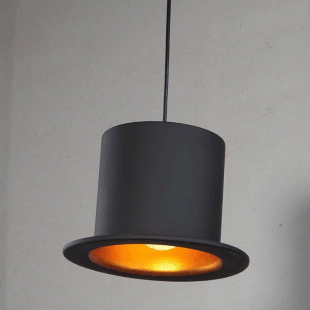 TangMengYun Nórdico Creative LED Sombrero Lámpara Colgante ...