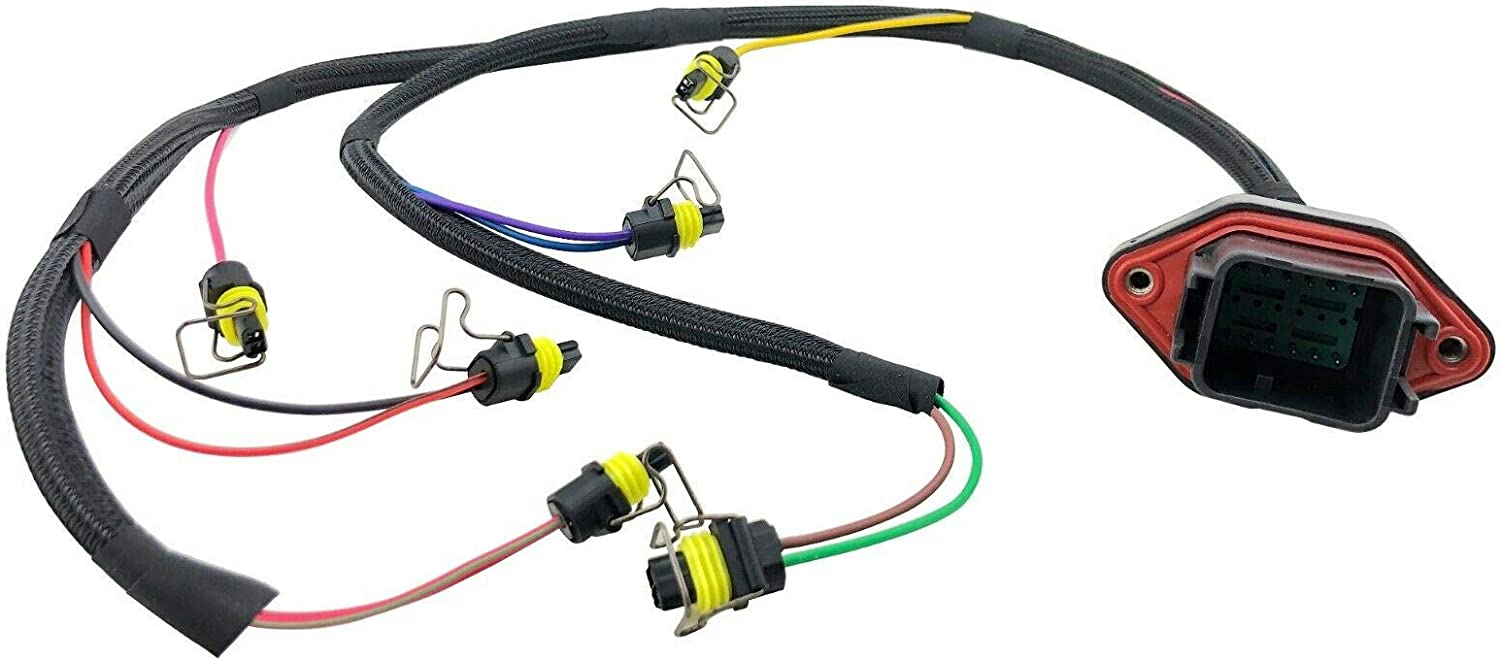 [DIAGRAM_38YU]  Amazon.com: Fuel Injector Wiring Harness for CAT Caterpillar C9 Engine fit  419-0841 215-3249: Automotive | Injector Wire Harness |  | Amazon.com