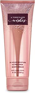 Bath & Body Works, Signature Collection Ultra Shea Body Cream, A Thousand Wishes, 8 Ounce