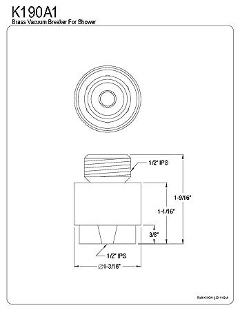 Vacuum Breaker Installation
