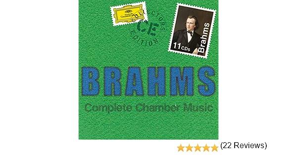 Brahms: Música De Cámara Completa: Varios Artistas: Amazon.es