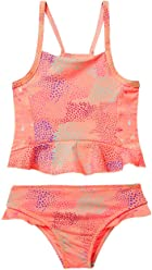 OFFCORSS Toddler Girl Two Piece Matching Summer Tankini Swimsuit UV Protection