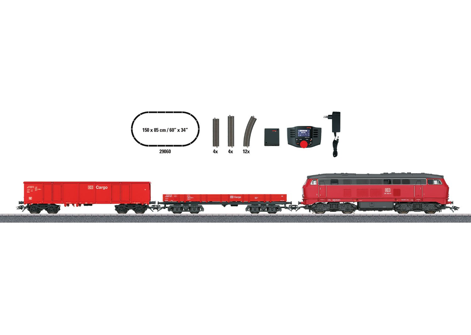 cca60521e2b39e Märklin 29060 Güterzug Epoche V Start up – Digital-Startpackung