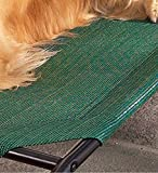Small Weather-Resistant Raised Mesh Pet Bed Replacement Mesh Cover