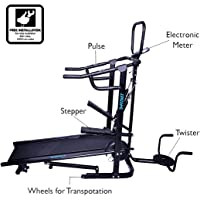 Fitkit FK96 Manual 4-in-1 Treadmill with Free Installation