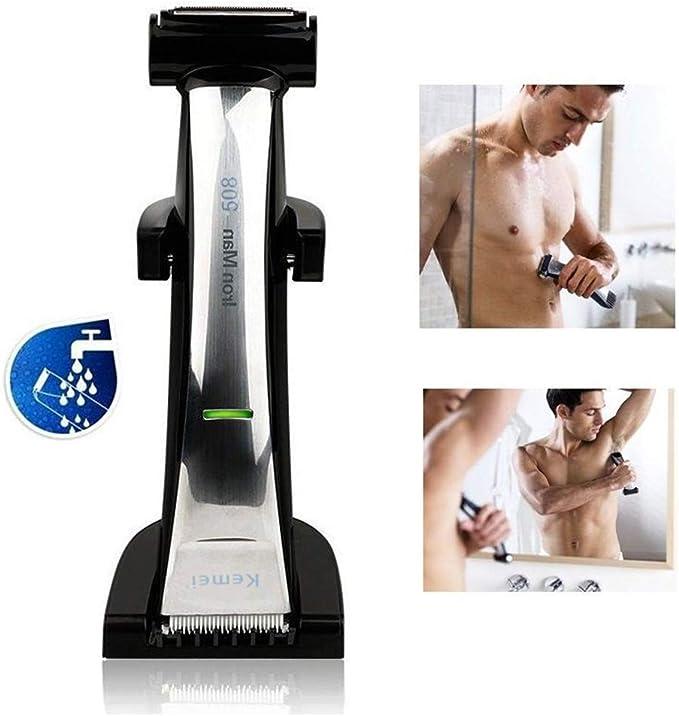 Afeitar Profesional Cortapelos Cabeza 2 En 1 Ajustable Recargable ...