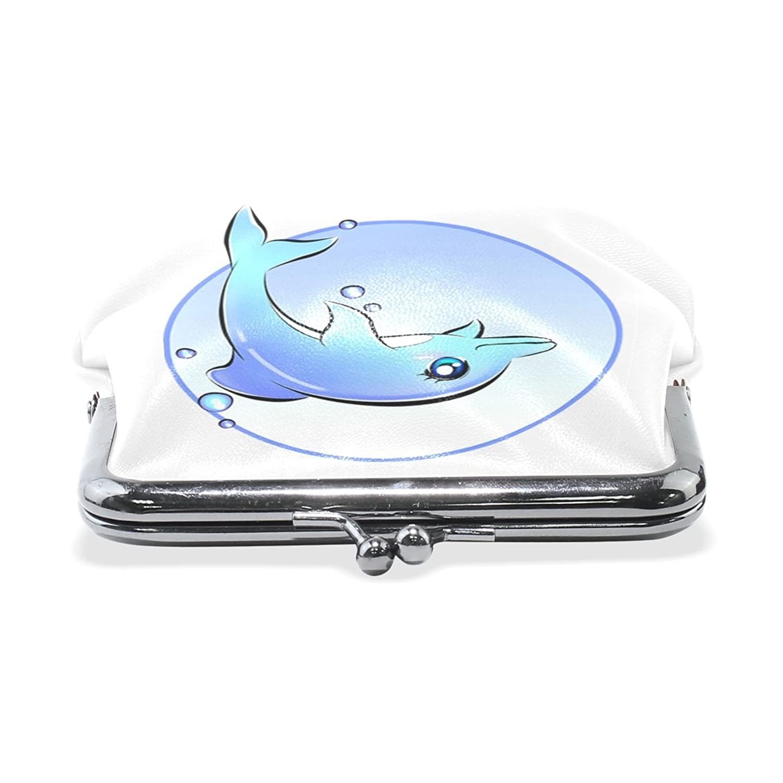 Amazon.com: ABLINK Anime Dolphin Wallet Card Holder Coin Purse Clutch Handbag: Shoes