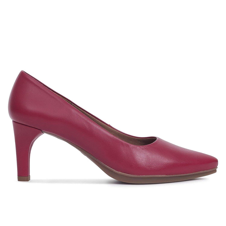 Zapatos Salón. Zapatos Piel Mujer Hechos EN ESPAÑA. Stiletto. Zapatos Tacón Granate. Zapato Mimao. Zapatos Mujer Tacón. Zapatos Mujer Fiesta y Baile Latino. Zapato Cómodo Mujer con Plantilla Confor