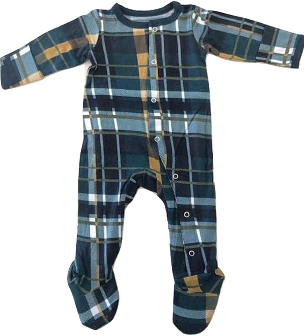 Bamboo Clothing Infant Boys Kozi /& Co Baby Sleeper Newborn Footie Pajamas by