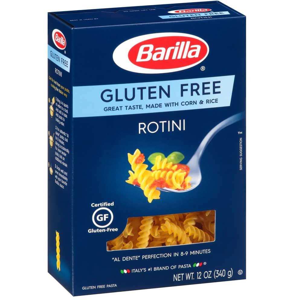 Barilla Gluten Free Rotini Pasta, 12 Ounce - 8 per case.