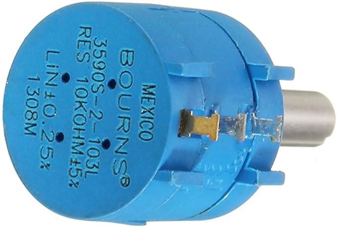 10 su vez Bourns 3590s-1-502l potenciómetro 5k