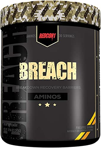 Redcon1 Breach, Pineapple Banana, 12.16 Ounce