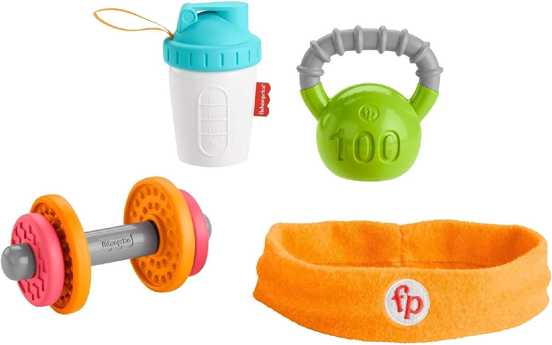 Fisher-Price- Conjunto de Regalo Baby Biceps (Mattel GJD49): Amazon.es: Juguetes y juegos