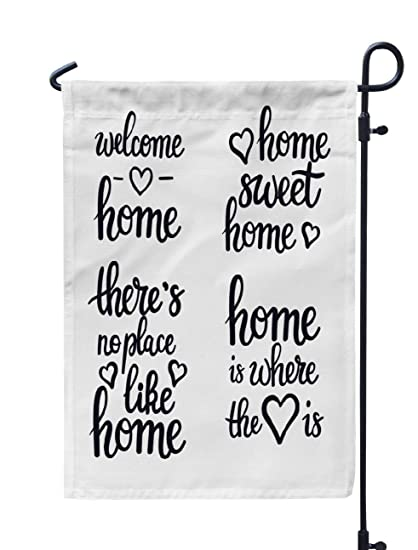 Amazon Com Kutita Home Sweet Home Garden Flag 12x18 Inch