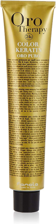 Fanola Oro Therapy 7.0 Blonde coloración del cabello Caoba 100 ml - Coloración del cabello (Caoba, Blonde, Mujeres, 1 pieza(s), 100 ml, Todo el pelo)