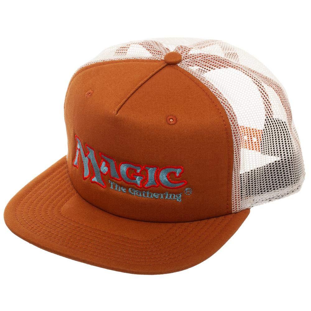 c63bcb3eded Amazon.com  Magic  The Gathering Snapback Trucker Hat Brown  Clothing