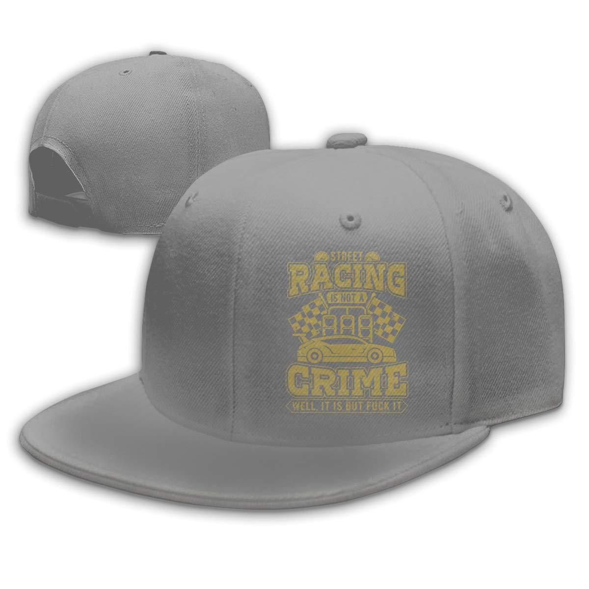 acbf67f13 Street Racing is Not A Crime Baseball Cap Flat Hat Unisex Snapback ...