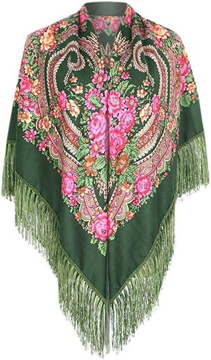 Womens Ladies Fashion Vintage Shawl Wool Scarf Check Winter Wrap Christmas Gift