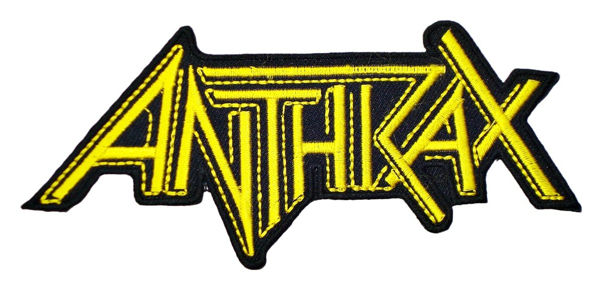 ANTHRAX Band t Shirts Logo MA22 Embroidery iron on Patches by MartOnNet Music Patch   B00QOLZONM