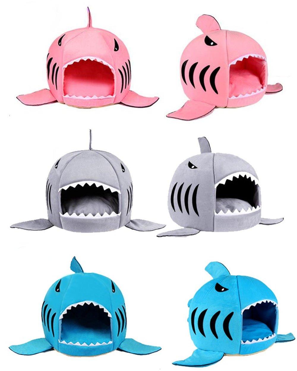 Perfekt BADASS SHARKS Hai Motive Hundehütte Hundebett Hundekörbchen Katzenbett Mit  Kissen Hundehaus Haustier Schlafsack Für Drinnen Waschbar ...