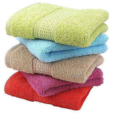 welim toalla toallas de algodón de toallas de casa de absorbente toallas toallas de color sólido