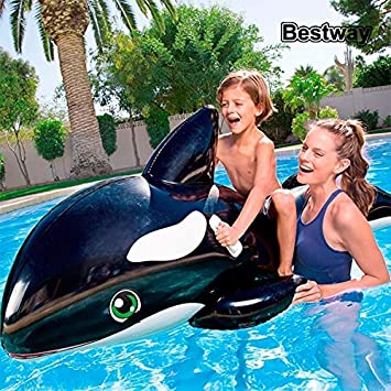 orca inflable boya de ballena nadando mar: Amazon.es ...