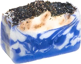 Lavender Soap Bar (4Oz) with dried Lavender and Lavender essential Oil, dry skin treatment, Natural Handmade Soap by Falls River Soap Company