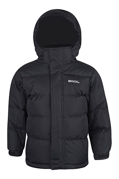 Fleece Snow Gefütterte Warehouse Übergangsjacke Jungen Warm Kinder Mädchen Wattiert Regendicht Jacke Winter Mountain PXuZki