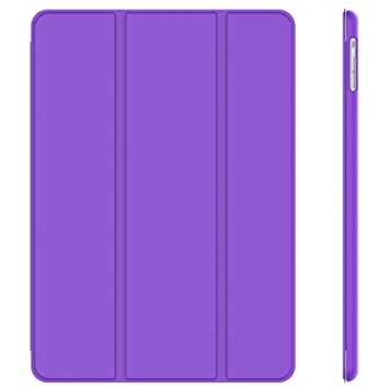 JETech - Funda para iPad Air, Carcasa con Soporte Función, Auto-Sueño / Estela, Púrpura
