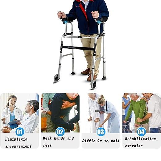 Walking Aids Cuatro Patas Ancianos Bipedestador Caminante ...