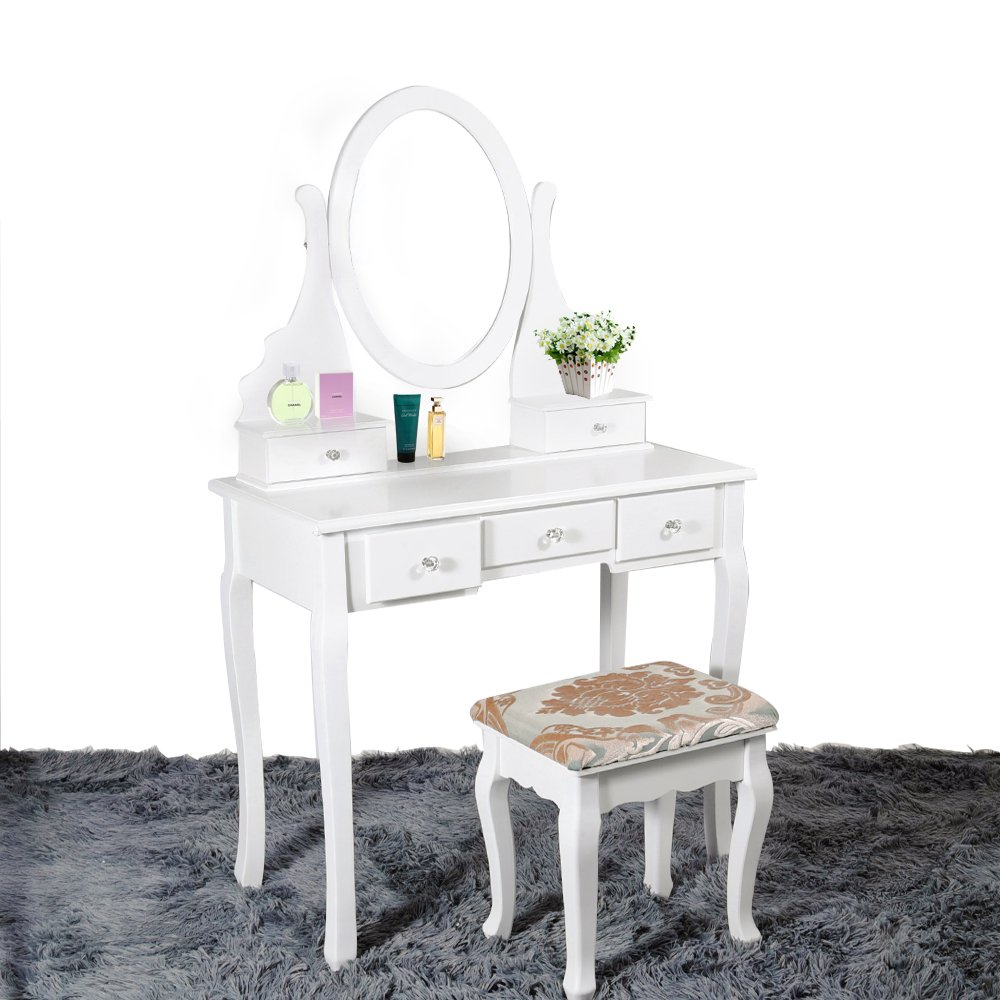 in with make bedroom wooden white mirror style desk small a girl makeup great up for