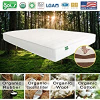 Palmpring Organic Coconut Coir Colva Mattress - KING