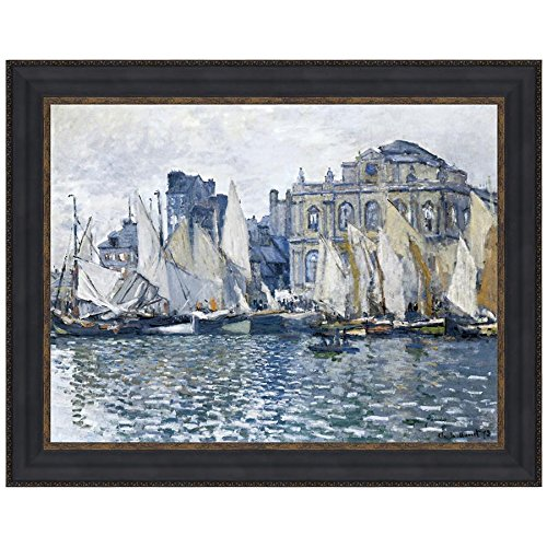 Design Toscano The Museum at Le Havre, 1873: Canvas Replica Painting: Small by Design Toscano