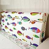 Bedside back pad / solid wood bed soft bag / removable bed on the back of the bag ( Size : 15060cm )