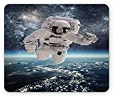 Best Dad In The Universes - Space Mouse Pad, Outer Space Theme Astronaut in Review