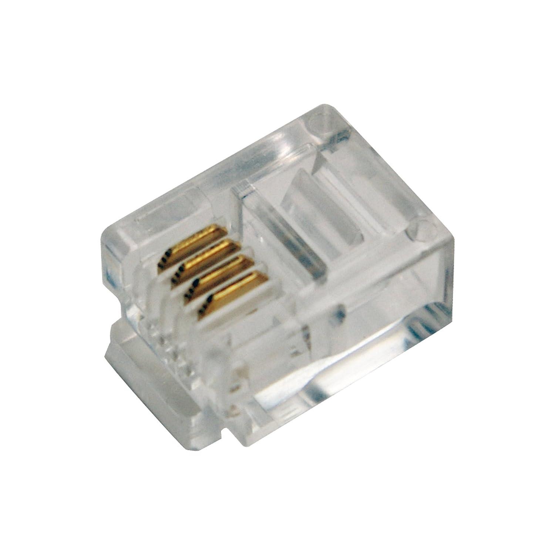 LogiLink Professional MP0018 RJ11 Stecker für: Amazon.de: Computer ...
