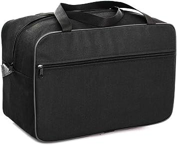 Ryanair Cabin Bag 40x20x25 Free Handbag Suitcase Luggage Tasche Handgepäck (Black)