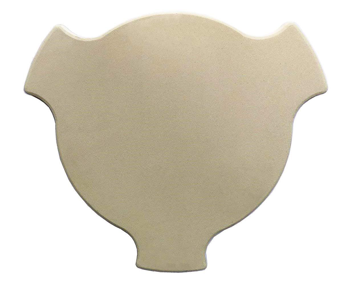 Hongso 18'' Smokin' Pizza Stone for Char-Griller AKORN Kamado Grills, Heat Deflector Plate Setter for Char-Griller AKORN Kamado Models 16620, 26720, 06620, 56720 and 6520,CR-18-2