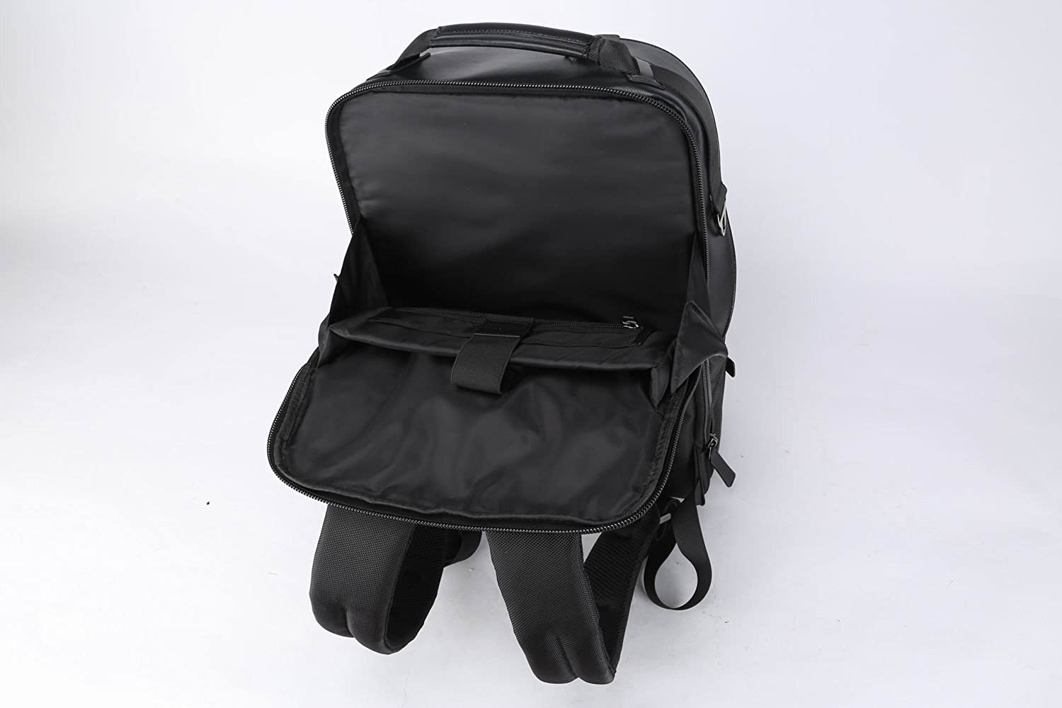 Microfiber Vegan Leather Doshi Barrel Backpack