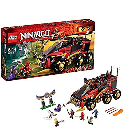 Amazon.com: LEGO (LEGO) Ninja Go Ninja machine DB X 70750 ...