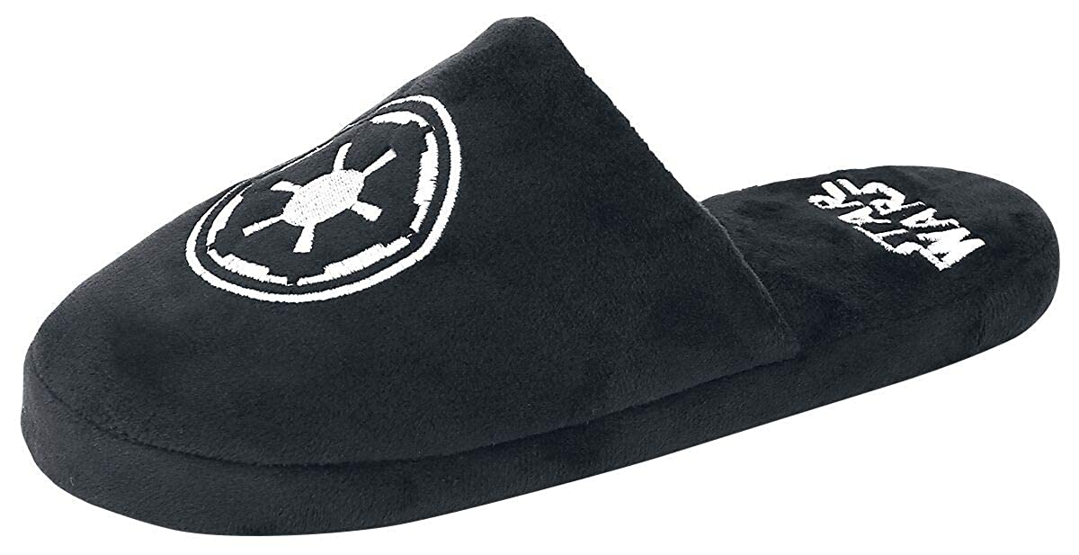 STAR WARS Chaussons Adulte Noirs Galactic