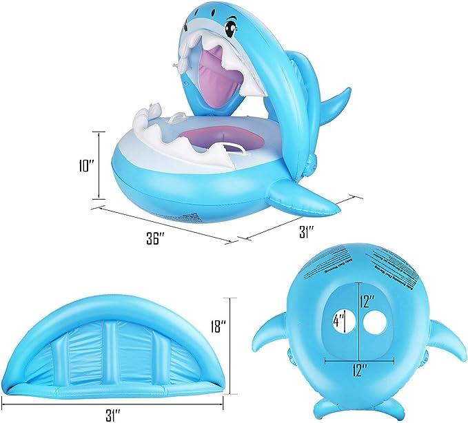 Amazon.com: Ayeboovi - Flotador para piscina, inflable, con ...