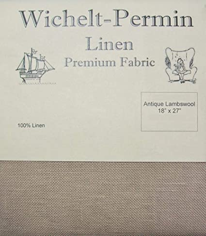 Wichelt-Permin Premium Linen Cross Stitch Fabric 18 x 27 Icelandic Beige 28 Count
