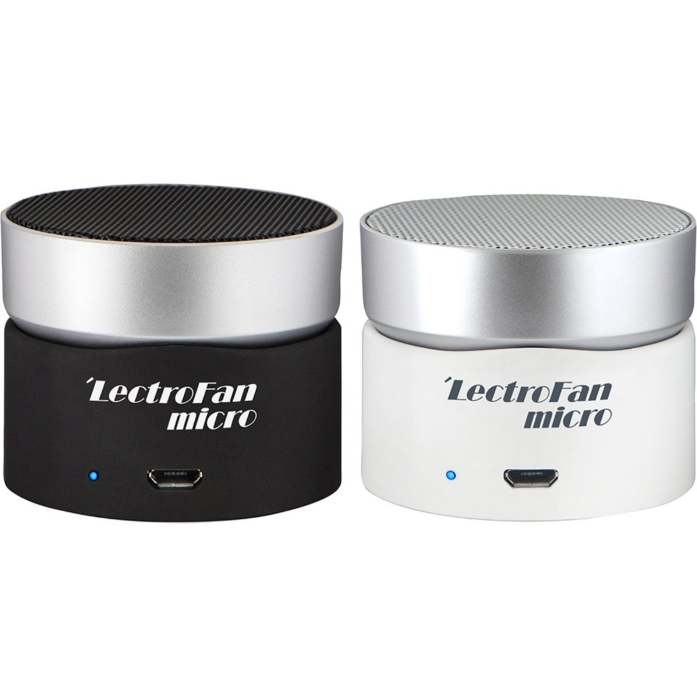 LectroFan Micro Wireless Sleep Sound Machine and Bluetooth Speaker with Fan Sounds, White Noise, and Ocean Sounds for Sleep and Sound Masking by Adaptive Sound Technologies (Image #9)