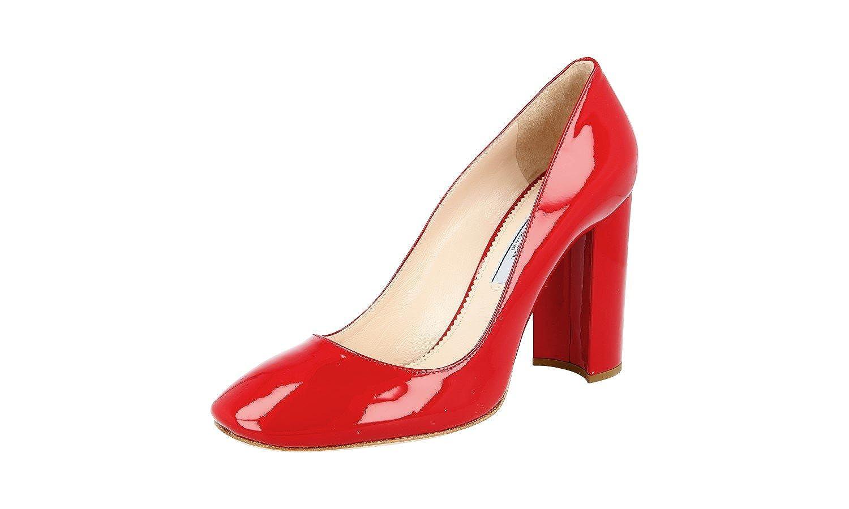 - Prada Women's 1I471F Leather Pumps Heels