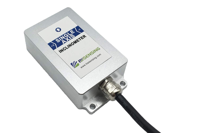 Single Axis Inclinometer Tilt Angle Sensor BWH510 with Accuracy 0.005 Degree and 0-5V,0-10v Output