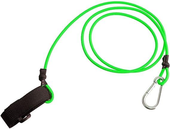 Paddle Leash Paddel Sicherungsleine mit drehbarem Karabiner Haken Clip