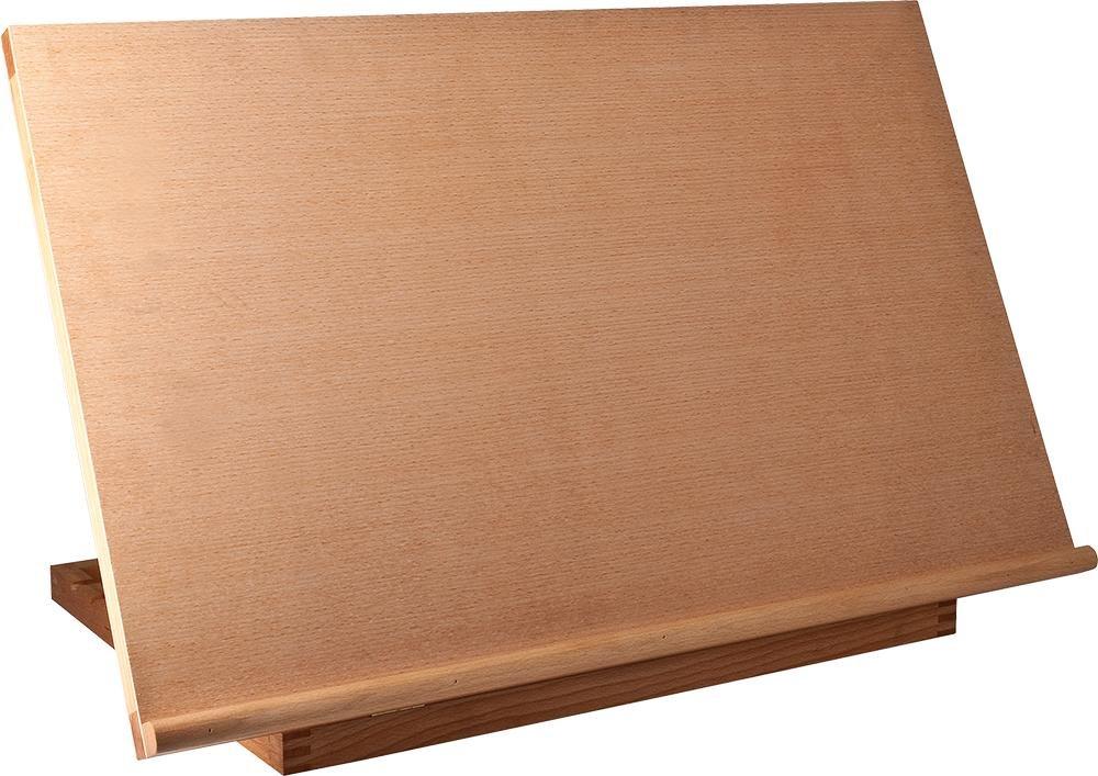 Chevalet de table - Planche à dessin - en bois de hêtre - 76x50 cm Kunstpark