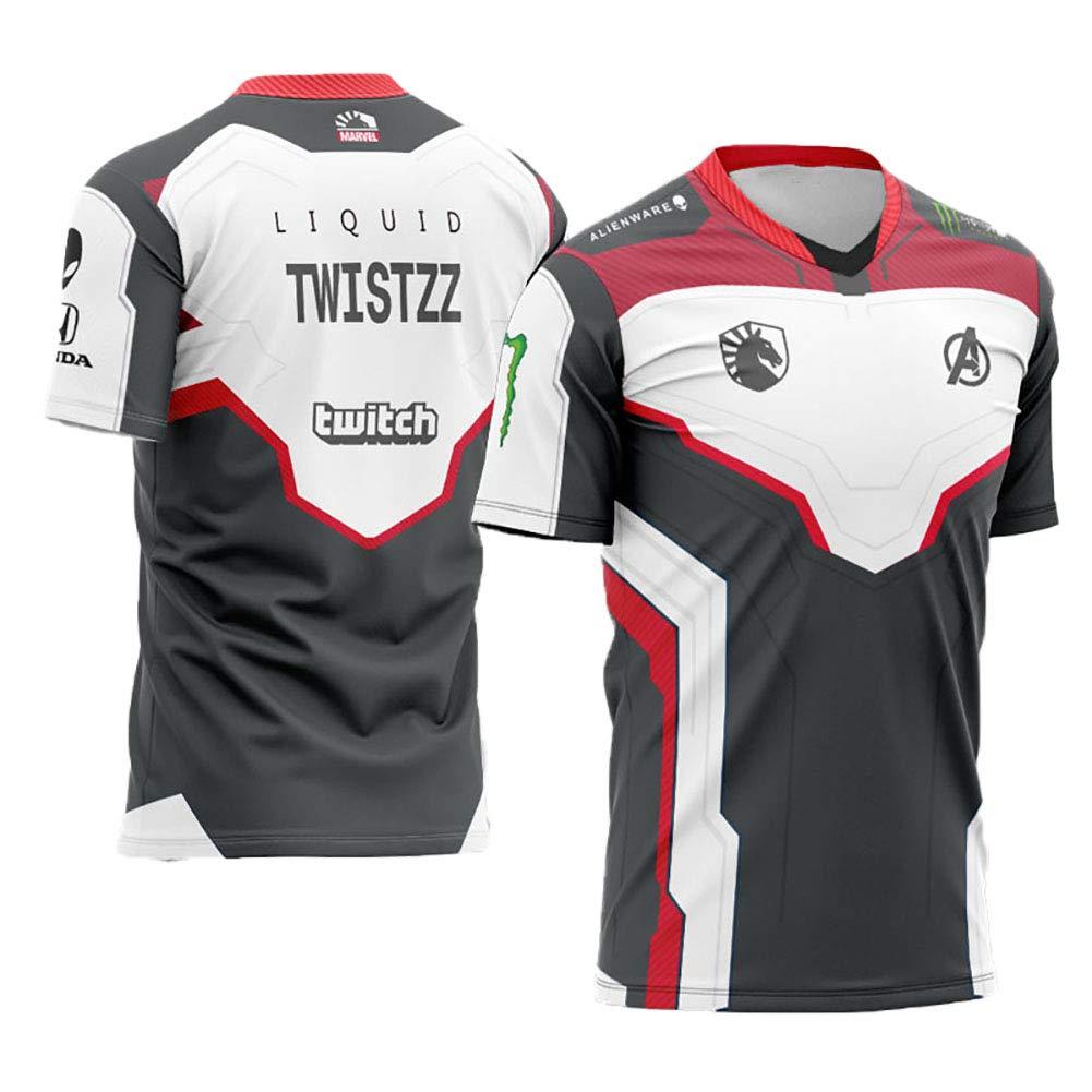73HA73 Mens E-sports T-Shirts LOL S9 G2 Esports Caps PerkZ /& KennyS CSGO Uniform Comfortable and Breathable Sweatshirts